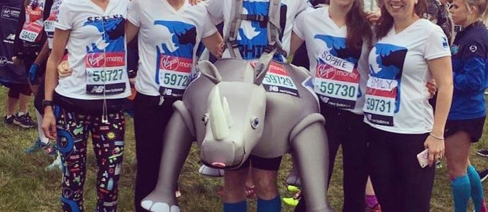 Running for rhinos